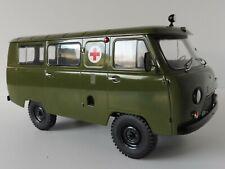 UAZ-452 AMBULANZ 1/18 SSM 83SSM2006 Start ScaleModels УАЗ-452 UAZ-452A Ambulance