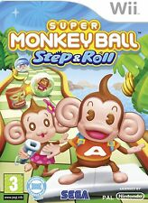 Super Monkey Ball Step & Roll (2010) Nintendo Wii - EXCELLENT Condition