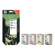 86 Partially New Genuine UNUSED HP 940XL Inkjet Cartridges 40% Ink