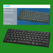 Maplin compact 10m sans fil clavier bluetooth, Windows MAC IPAD / IPHONE ANDROID