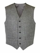 Harris Tweed Woolen Waist Length Coats & Jackets for Men