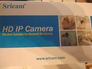 Sricam WLAN IP Kamera Indoor Überwachungskamera Innen Hund/Baby mit Nachtsicht