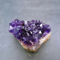1pc Amethyst Cluster Natural Quartz Crystal Healing Chakra Specimen Home Decor