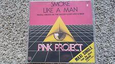 Pink Project - Smoke like a man 12'' Italo Disco Vinyl