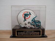 Display Case For Your Jim Brown Browns Autographed Football Mini Helmet