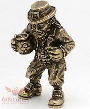 Bronze Figurine of Leprechaun with a pot of gold St. Patrick's Day souvenir