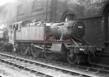 PHOTO  GWR 6147 IN THE SHED YARD AT BRISTOL BARROW ROAD IN 1962