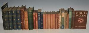 Collection of 26 Books CHARLES DICKENS Illustrated Works 1878 Dotheboys Hall