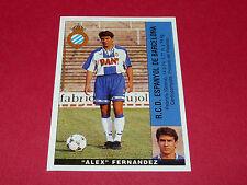 ALEX FERNANDEZ ESPANYOL BARCELONA PANINI LIGA 95-96 ESPANA 1995-1996 FOOTBALL