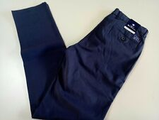 Ben Sherman the original Man's Chino Pants, Size 30, navy blue, stretch slim fit