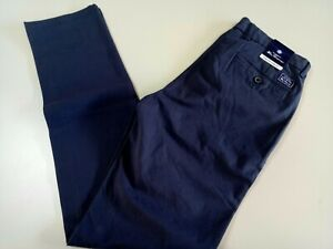 Ben Sherman the original Man's Chino Pants, Size 30, navy blue, stretch slim fit