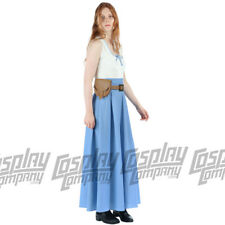 Dolores Dress and Belt Wild West Cosplay Costume Fancy Westworld Delores