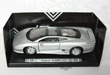 SHELL Sportscar Collection JAGUAR XJ220 in Silver 1:24