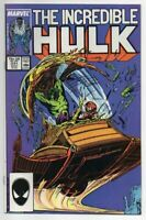Incredible Hulk #331, VF/NM 9.0, 1st Peter David/Todd McFarlane collaboration