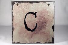 """Words To Live By Sherri Ohler 6"""" Alphabet Tiles Letter 'C' #101782 Demdaco NEW"""