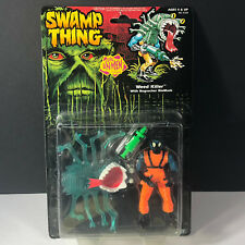 1990 KENNER SWAMP THING ACTION FIGURE moc evil unmen Weed Killer bogsucker mask