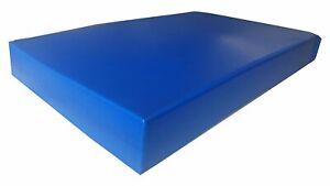 KosiPad Deluxe Gym Landing Crash Mat, Play,Nursery,Training Safe, Medium Blue