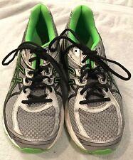 Asics Gel-Flux 3 Men's Running Shoes Lighting/Black/Green Gecko T614N Size 10.5