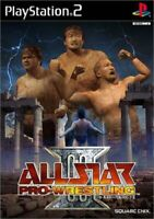 USED PS2 PlayStation 2 All-Star Pro Wrestling III 03797 JAPAN IMPORT
