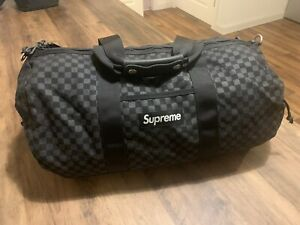 Supreme GENUINE Denier Nylon Duffle Bag 2011 - Cordura Black