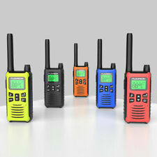 FLOUREON 16CH TWIN WALKIE TALKIE PMR 446mhz TWO WAY RADIO INTERPHONE 5KM RANGE