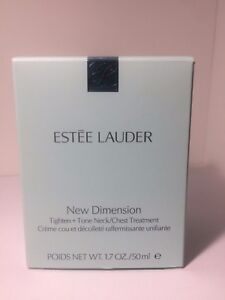 Estee Lauder New Dimension Tighten + Tone Neck/Chest Treatment 1.7oz 50mL NIB