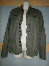 River Island womens olive green jacket size S