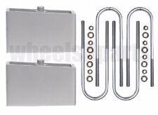 """Ranger Lift Kit Rear 2"""" Aluminum Blocks & U Bolts 1998-2011 Ford 4x4 4x2"""