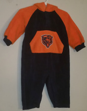 Adidas Chicago Bears Baby Infant Fleece Hooded Sweater/Jacket Size 12 Months