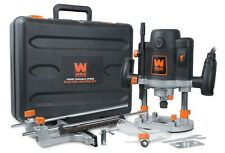 WEN RT6033 15A Variable Speed Plunge Woodworking Router Kit with Carrying Case