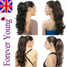 Synthetic Hair Extensions with 1 Bundles