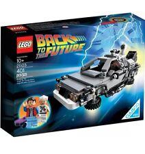 """BRAND NEW SEALED LEGO 21103 BACK TO THE FUTURE DELOREAN SPELLING ERROR """"SHEILD"""""""
