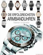 Fachbuch Die erfolgreichsten Armbanduhren Cartier Rolex Zenith, viele Bilder NEU