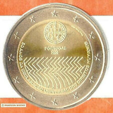 Sondermünzen Portugal: 2 Euro Münze 2008 Menschenrechte Sondermünze Gedenkmünze