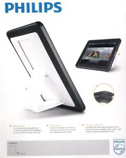 Deluxe 2 in 1 iPad 1st G Hard Shell Case With Rubber Edges + Built in Stand