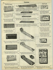 1927 PAPER AD Ten Pin Games Toy Felix The Cat Spelling Boards Telegraph Sets