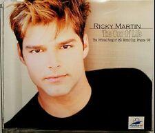 """RICKY MARTIN """"The Cup Of Life/La Copa De La Vida"""" 4-Track-Maxi-CD 1998"""