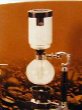 YAMA GLASS 5 CUP SIPHON VACUUM TABLE TOP ALCOHOL BURNER COFFEE MAKER FREE SHIP