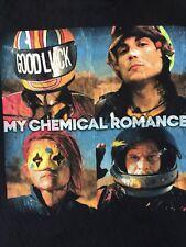 My Chemical Romance MCR Gerald, Mickey Way, Frank, Ray Good Luck Adult T-shirt M