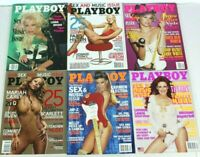 Playboy Lot of 6 Sex & Music Issues Mariah Carey Paris Hilton Carmen Electra