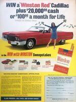1970 Cadillac Convertible Vintage Advertisement Print Art Car Ad Poster LG79