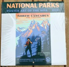 National Parks Poster Art of the WPA 2021 Mini Wall Calendar 7