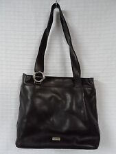 GUC Dark Brown Leather OROTON Shoulder Bag SYDNEY Australia Handbag