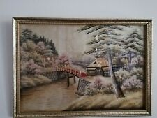 Oriental silk embroidery Picture