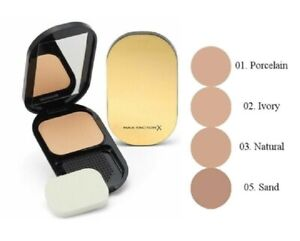 MAX FACTOR Facefinity Compact Foundation SPF20 10g brand new choose your shades
