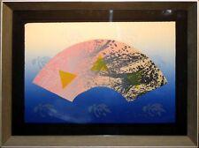 "Scott Sandell ""Blue Sky Natural"" Signed Numbered Mixed Media Art, Framed, OBO!"