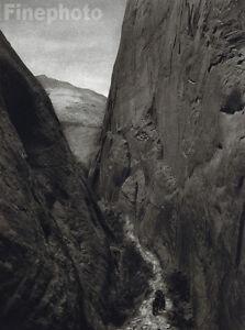 1926 ARIZONA Canyon Mountain LANDSCAPE Horse Art, HOPPE
