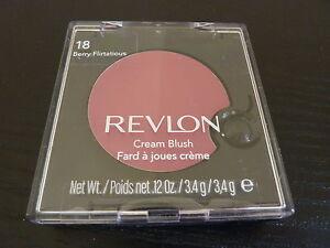 Revlon Cream (Creme) Blush - BERRY FLIRTATIOUS #18 - Brand New / Sealed