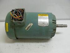 BALDOR VJMM3615T MOTOR 5 HP 1725 RPM 230/460 VOLT 60 Hz 13.2/6.6 AMP 3 PH