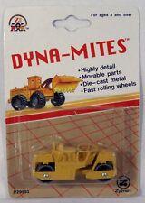 Zee Toys Dyna-Mites Road Roller MOC Construction Equipment Zylmex c.1993